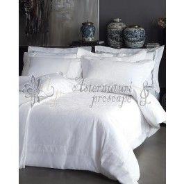 Valeron La Mer - lenjerie de pat de lux din bumbac cu tesatura jacquard