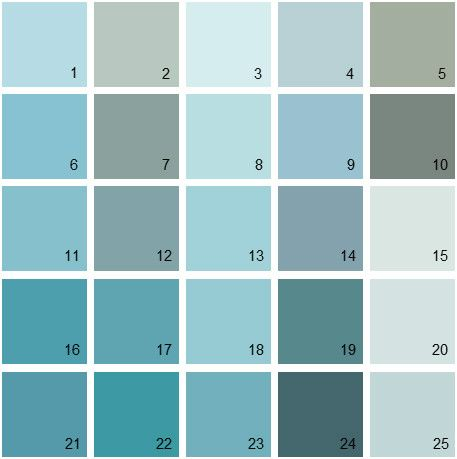 Blue Paint Swatches 694 best the evolution of color images on pinterest | colors, wall