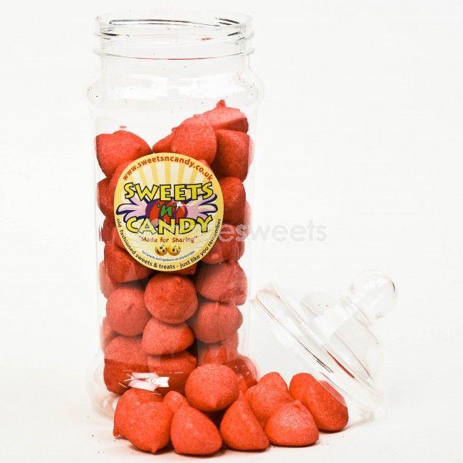Red Paint Balls - Large Victorian Jar (450g)