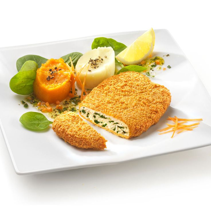 Spinacine con purè di patate e carote