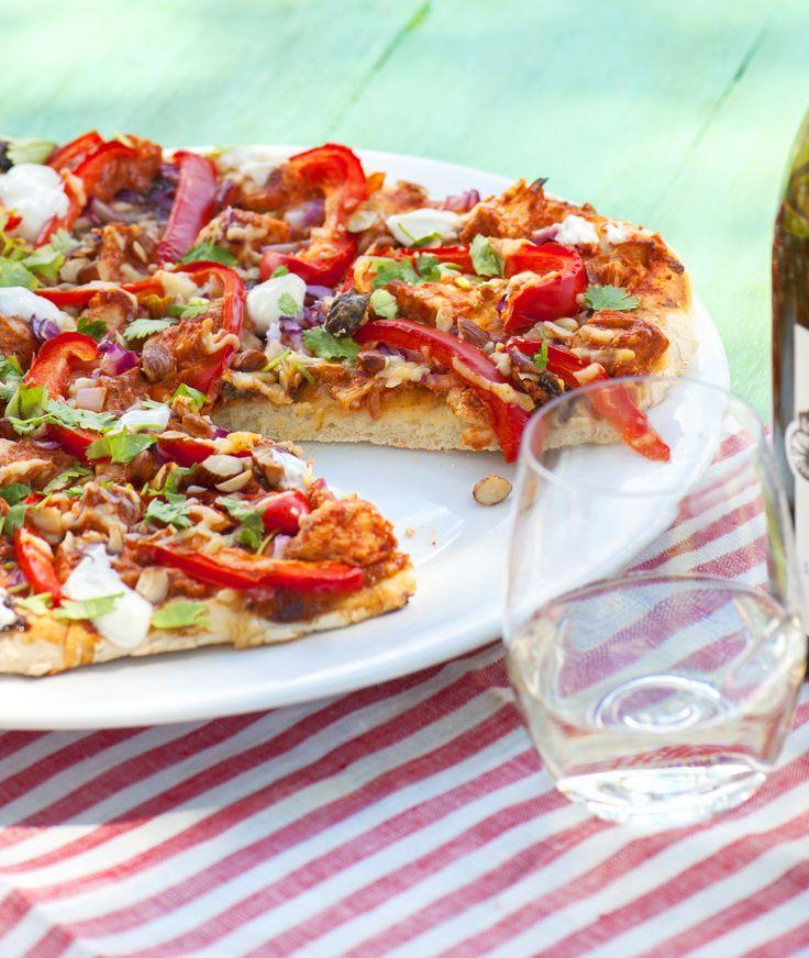 Tasty Tandoori Chicken Pizza