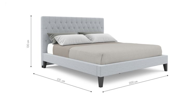 Emily King Size Bed Frame