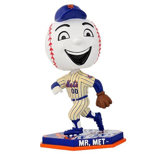 Mr. Met bobblehead? Yes please!