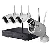 Wireless Camera LESHP Weatherproof Wireless Security Camera System 4CH 720p Video Recorder NVR IP Cameras  by LESHP  (4)  Buy new: CDN$ 175.99  (Visit the Hot New Releases in Camera, Photo & Video list for authoritative information on this product's current rank.) Amazon.ca: Hot New Releases in Electronics > Camera, Photo & Video