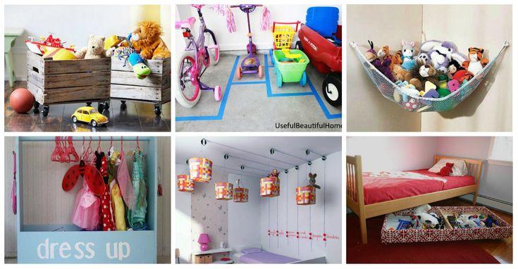 M s de 1000 ideas sobre organizaci n de los juguetes de - Ideas para ordenar la casa ...