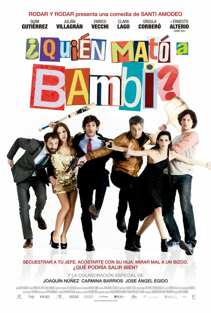 ¿Quién mató a bambi? en CineSur Luz Del Tajo http://www