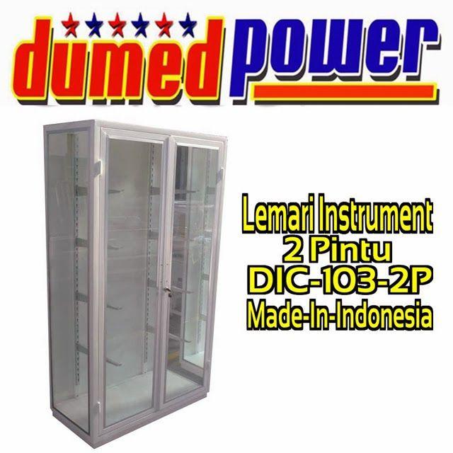 """LEMARI INSTRUMENT 2 PINTU DIC-103-2P """"DUMEDPOWER"""""""