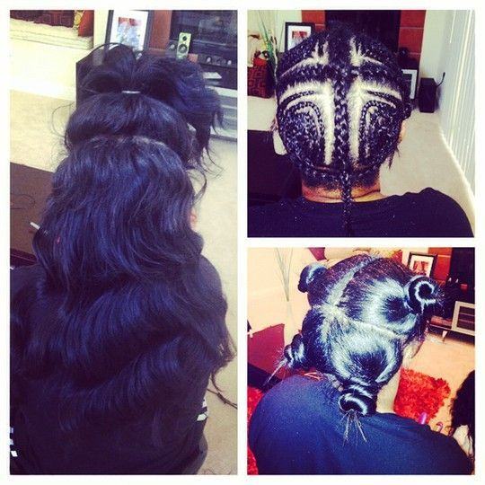 Swell 1000 Ideas About Vixen Sew In On Pinterest Sew Ins Lace Hairstyles For Women Draintrainus