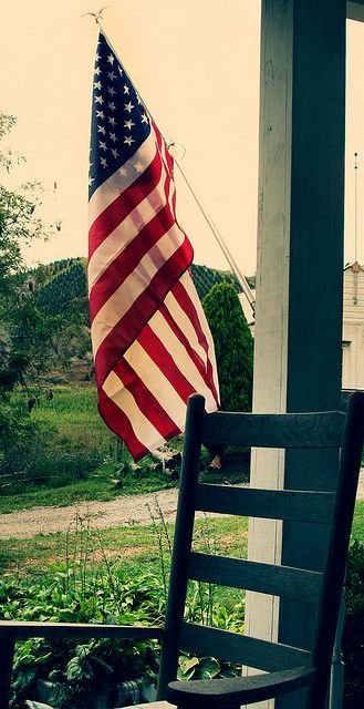 Patriotism...everyone in the United States should own an American flag.