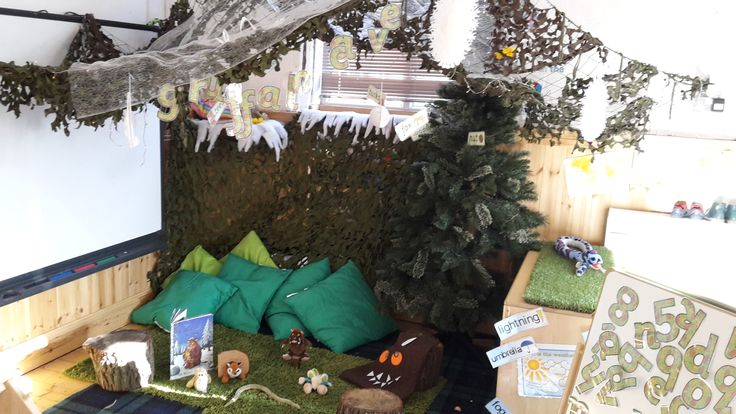 Gruffalo Reading Area