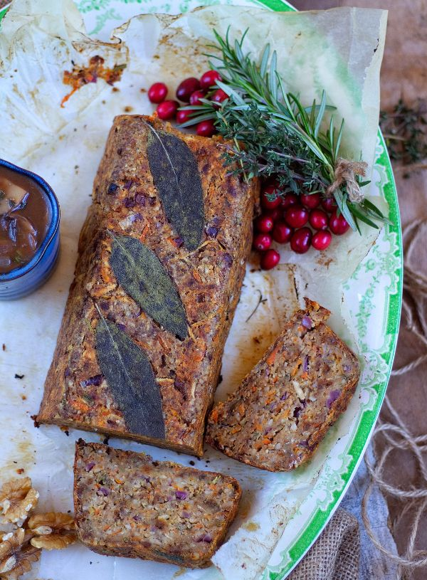 Christmas Nut Roast Recipe Food Vegan Roast Xmas Food