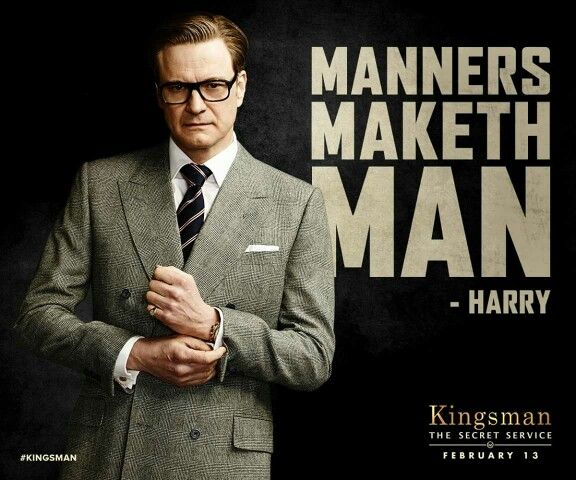 Colin Firth as Galahad in Kingsman: The Secret Service. Very entertaining movie! Colin gets to kick some bad a**! :)