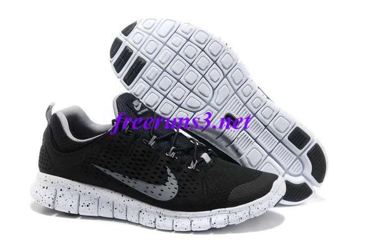 2XN07f Mens Nike Free Powerlines II Black Grey Shoes