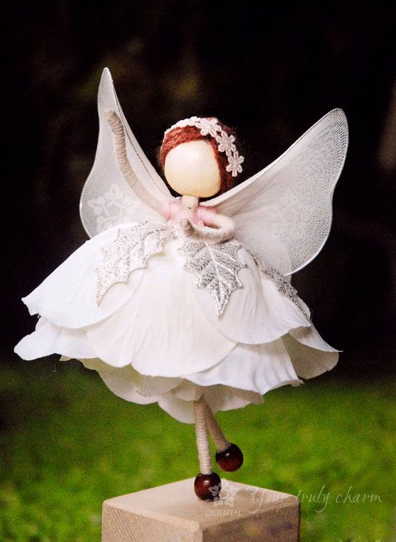 White Princess Doll White Angel Doll White Bride by OrientalColour, $11.00