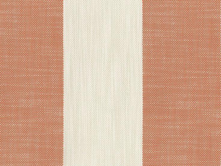 Perennials Fabric - Vintage Stripe - Mandarin, Outdoor