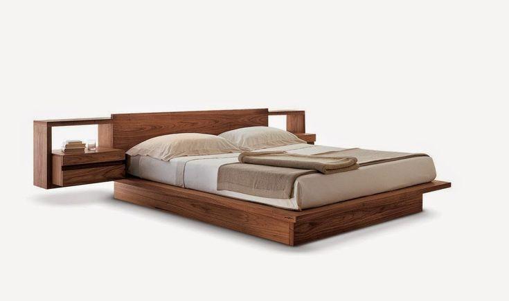"""дневник дизайнера: Современные двуспальные кровати из дерева """"Riva 1920"""""""
