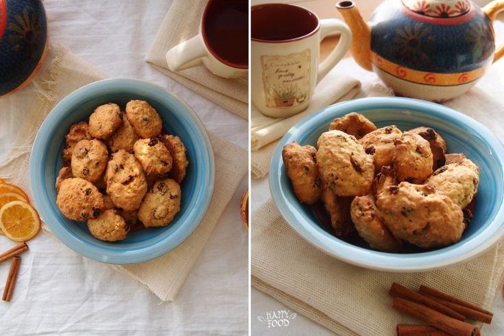 my_happyfood: Тыквенное овсяное печенье с клюквой и изюмом