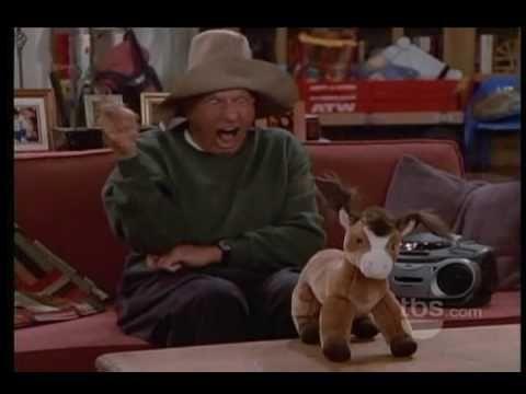 Jerry Van Dyke: Mule Train on Yes, Dear (so funny). Jerry lives in central Arkansas.