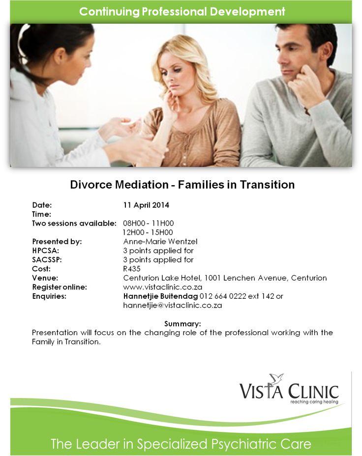 Upcoming CPD Seminar - Divorce mediation