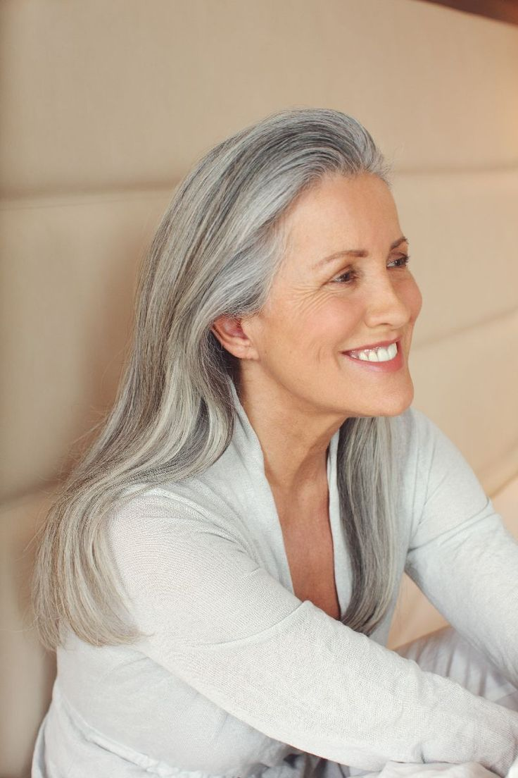 how to make gray hair look great