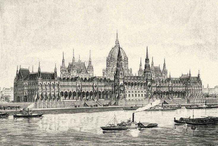 A gótikus stílusban megépített londoni Parlament után elkészült Steindl Imre fő műve a historizáló eklektika jegyében, neogótikus stílusú budapesti országház épülete (1885 – 1904).