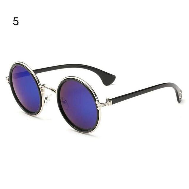 Vintage Ronda gafas de Sol de Espejo de Metal de Moda Gafas de Sol Para Mujeres de Los Hombres UV400 Shades Gafas gafas de Sol Caliente D2 en Gafas de sol de Ropa y Accesorios en AliExpress.com | Alibaba Group