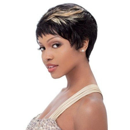 cute and edgy short haircut for black women  wig