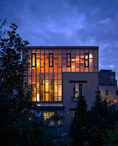 Surélévation en bois maison de ville - surelevation maison bois | Agrandissement & Extension