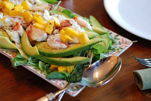 Mango Crab Salad | Get in mah belly | Pinterest