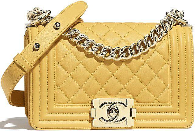 b02c8016e8f4 Chanel Cruise 2019 Classic And Boy Bag Collection   Bragmybag   V ...