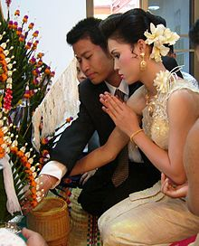 Weddings are a very important part of the Thai culture and are separated into 2 parts (if religion is Buddhist) a Buddhist component (recitation of prayers,or an offering) and a Non-Buddhist component (tradition in the couple's families).