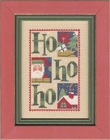 Lizzie Kate Christmas cross-stitch