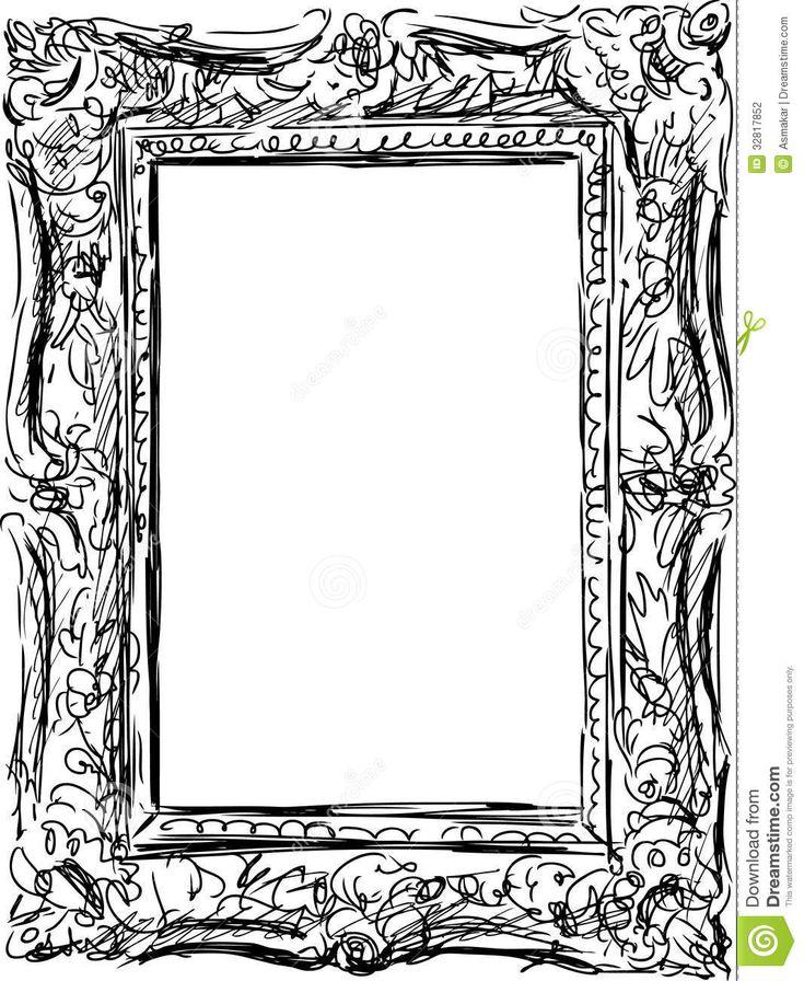 art frame drawing - Google keresés | tanfolyam | Pinterest ...
