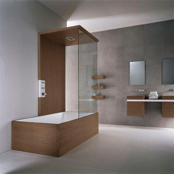 25 best ideas about vasca da bagno doccia su pinterest - Vasche da bagno con box doccia incorporato ...