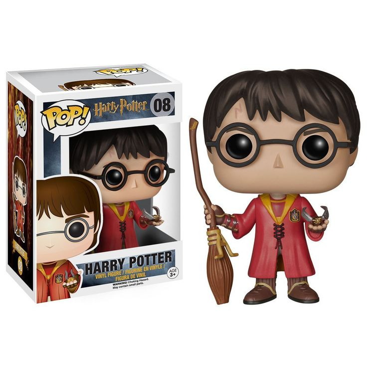 This is the Quidditch Harry Potter POP Vinyl Figure that is produced by Funko. Harry Potter POP Vinyl's have been eagerly awaited by the fans and it's neat to finally see them arriving. The Quidditch