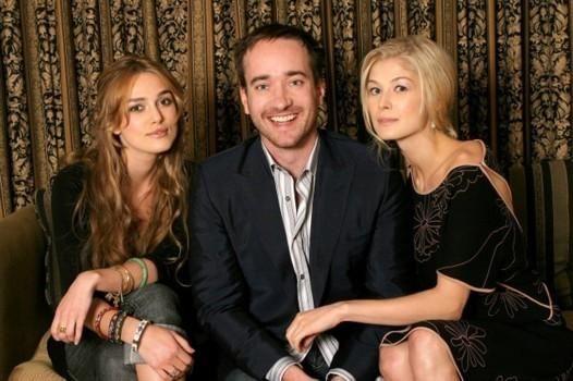 Keira Knightley, Matthew Macfadyen, and Rosamund Pike   Actors&Actress   Pinterest   Beautiful ...