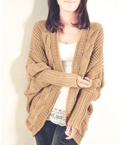 Batwing coat shawls long cardigan sweater  JCHB | Sniydan - Clothing on ArtFire