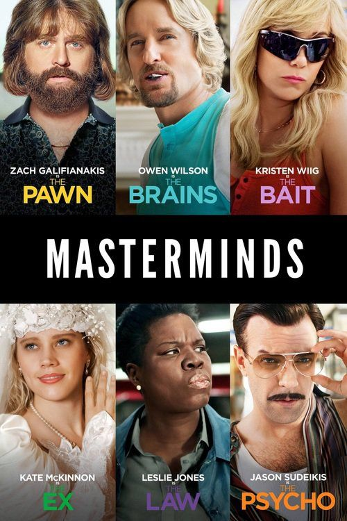 Masterminds movie wikipedia: A night guard at an armored car company in the…