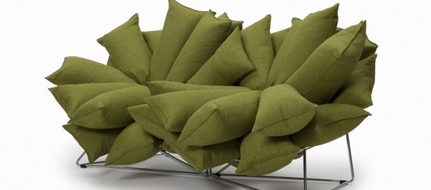 Different sofa from Wasabi Designer Yuki Abe. interesting...