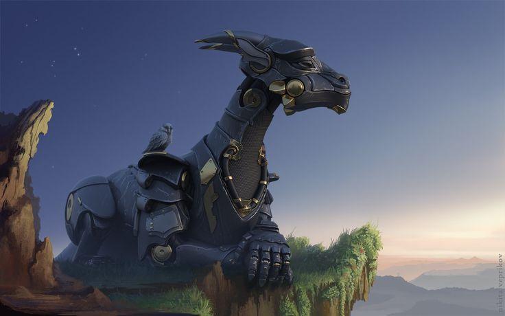 Black dragon by veprikov on DeviantArt