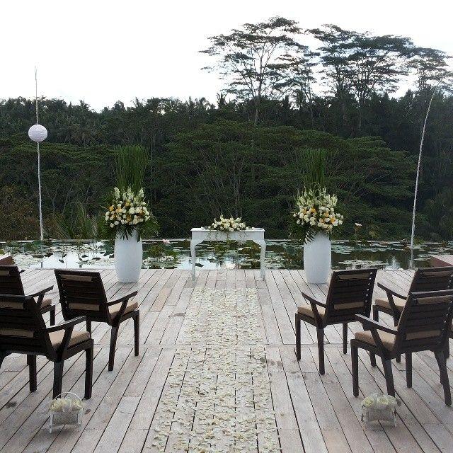 Enchanting wedding venues await you and your guest at #FSBali Sayan  #FSFotog #FSWedding #Wedding #Bali #LuxBride #Ubud #FourSeasonsBali
