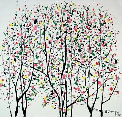 The Tree Story by Wu Guanzhong