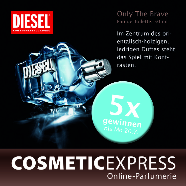 #Gewinnspiel auf #facebook #Diesel #onlythebrave