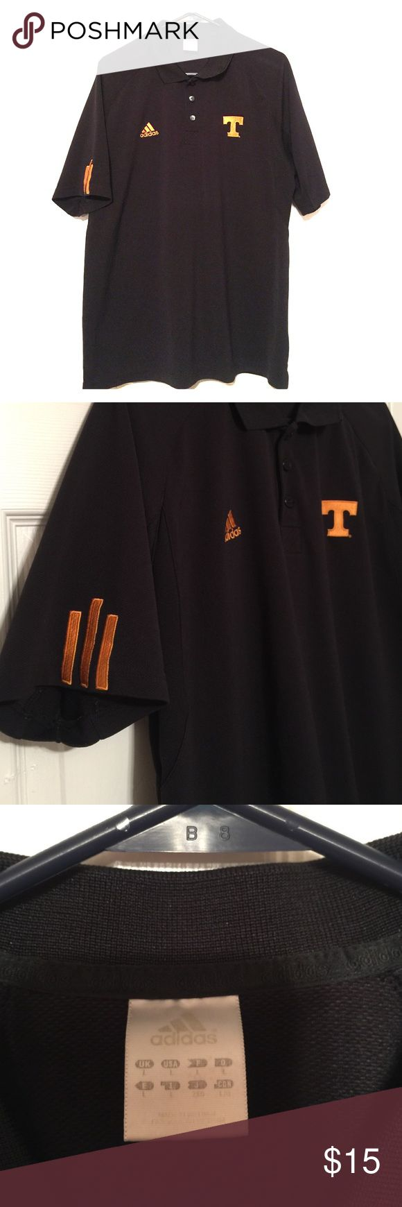 TN VOLS Adidas men's tee TN VOLS adidas men's tee excellent condition size LG Adidas Shirts Tees - Short Sleeve