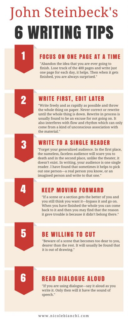10 Tips for Writing