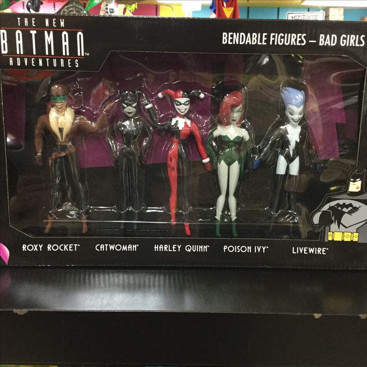 Bad Girl bendies from the Batman collection. Sweet!