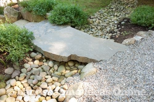 Stone Slab Bridge Set Over A River Rock | Rocks U0026 Stones Gallery