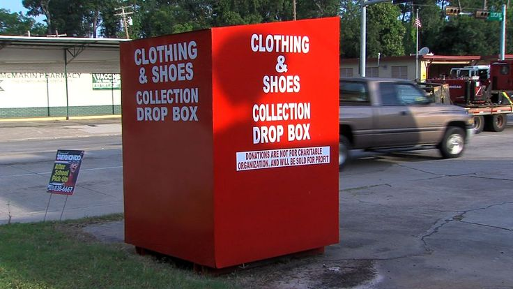 Clothes-recycling bins hurt local donations. Please read before using these!