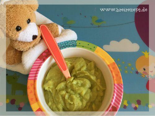 Rezept für Babybrei mit Avocado und Kartoffel