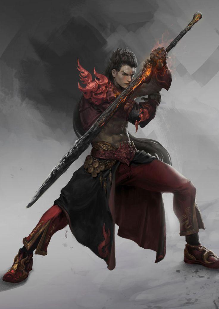 Fantasy warrior men - photo#38